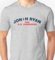 Jonah Ryan for U.S. Congress Unisex T-Shirt