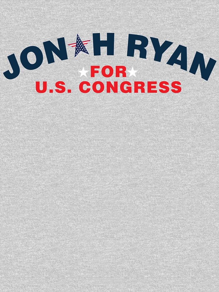 TShirtGifter presents: Jonah Ryan for U.S. Congress | Unisex T-Shirt