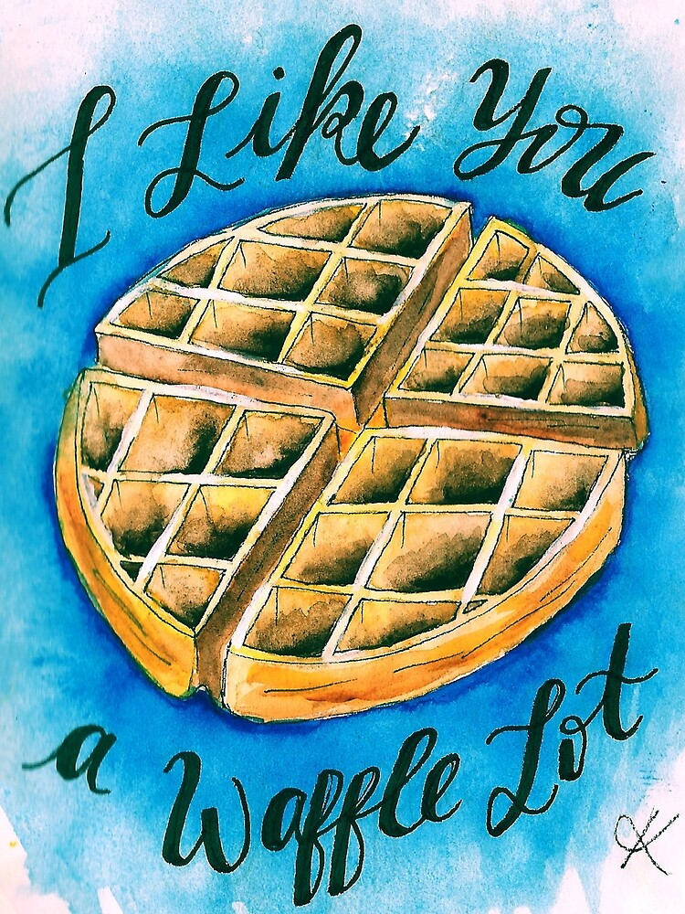 Waffle  by katelynyoder