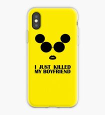 Lady Gaga - I Just Killed My Boyfriend iPhone Case