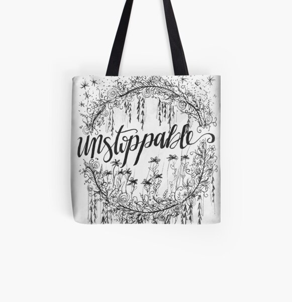 Unstoppable  All Over Print Tote Bag