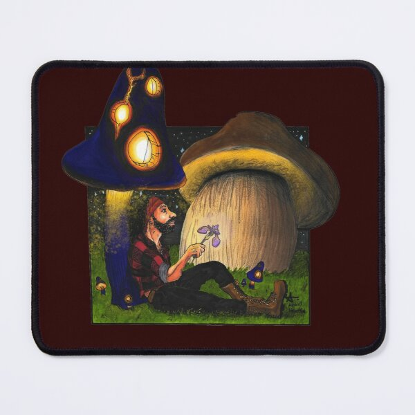 Muschroom World Mouse Pad