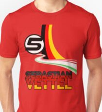 Sebastian Vettel - 5 - Germany T-Shirt