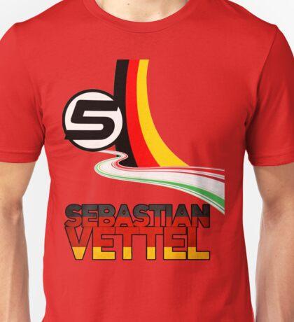 Sebastian Vettel - 5 - Germany Unisex T-Shirt