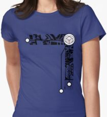 <3 box Women's Fitted T-Shirt