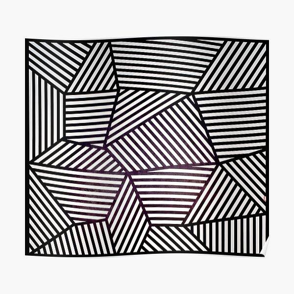 Wall Drawing 565 (Sol LeWitt, 1988) Poster