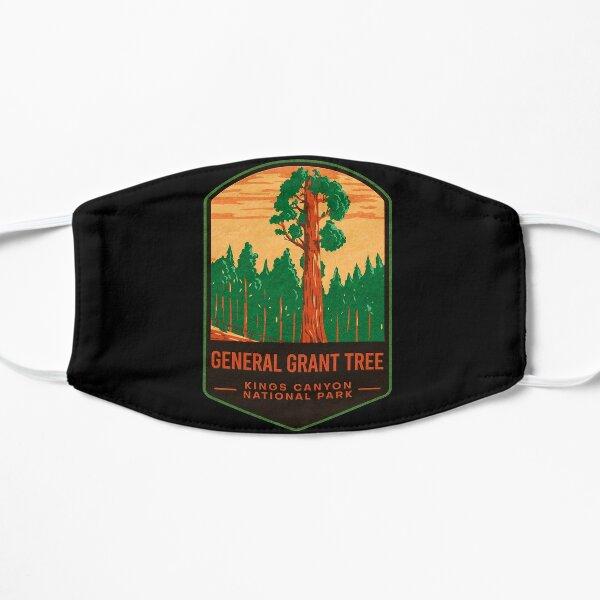 General Grant Tree Kings Canyon National Park Flat Mask