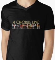 A Chorus Line Men's V-Neck T-Shirt
