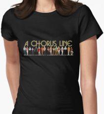 Eine Chorus-Linie Tailliertes T-Shirt