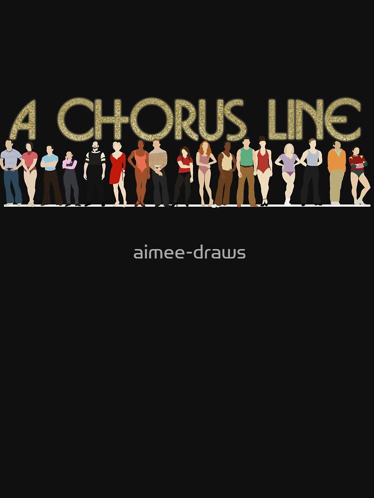 Una línea de coro de aimee-draws