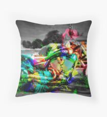 Victory Splash Throw Pillow