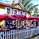 New Hope PA - Dining Al Fresco by Susan Savad