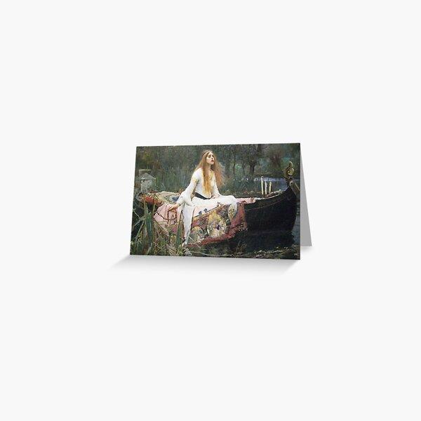 Waterhouse - The Lady of Shalott Greeting Card