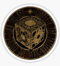 Hellraiser - Box - Clive Barker - lament configuration Sticker