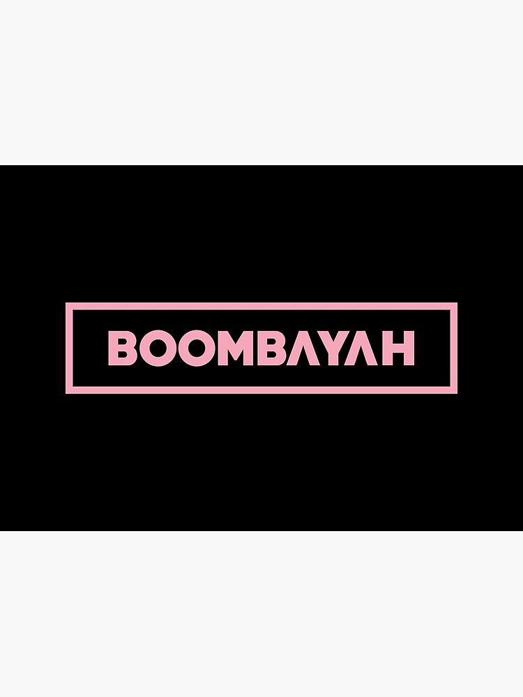 Black Pink Boombayah Pink Kpop Merch Kpop Shirt Kpop Mugs Kpop Stickers Women Tees Korean Group Greeting Card By Printingseoul Redbubble