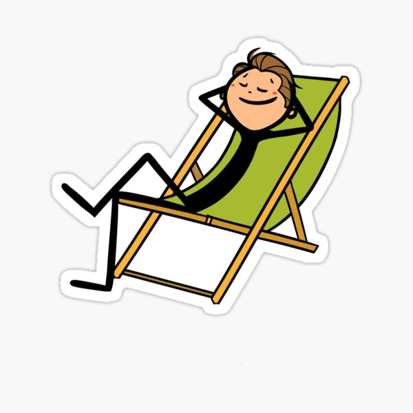 ESL Stickman - Chill out Sticker