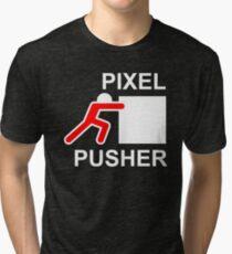 PIXEL PUSHER - Alternate Tri-blend T-Shirt