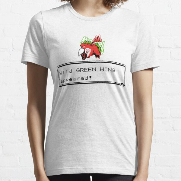 Green Wing Sprite Essential T-Shirt
