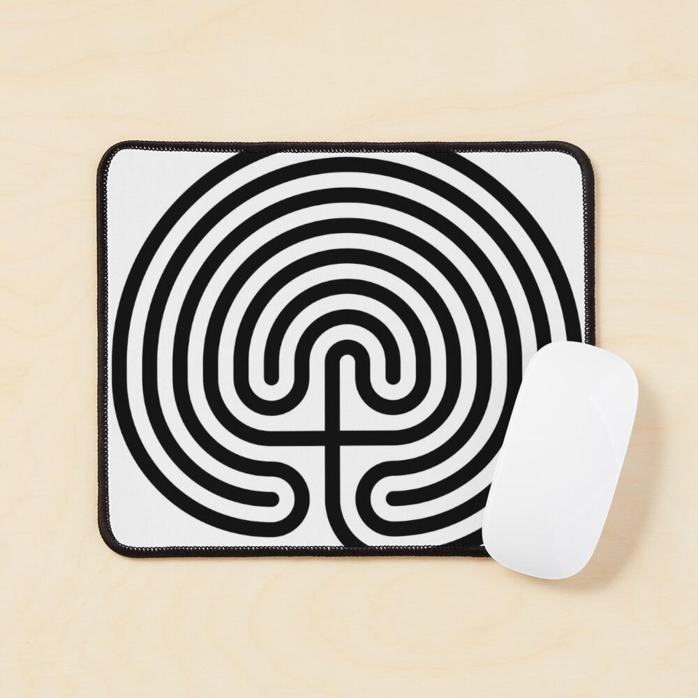 #Cretan, #labyrinth, Cretanlabyrinth Mouse Pad