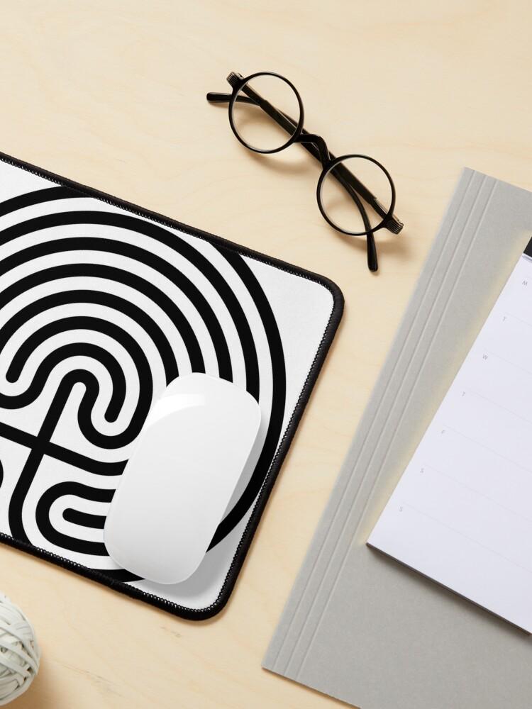 Alternate view of #Cretan, #labyrinth, Cretanlabyrinth Mouse Pad