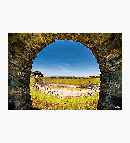 Pompeii Arena Photographic Print