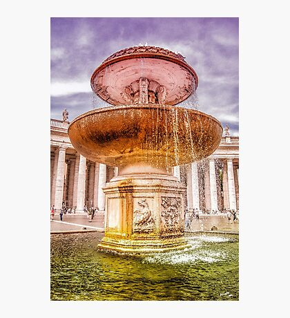 God's Fountain Photographic Print