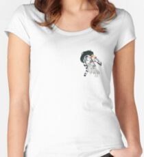 Samurai Girl Women's Fitted Scoop T-Shirt