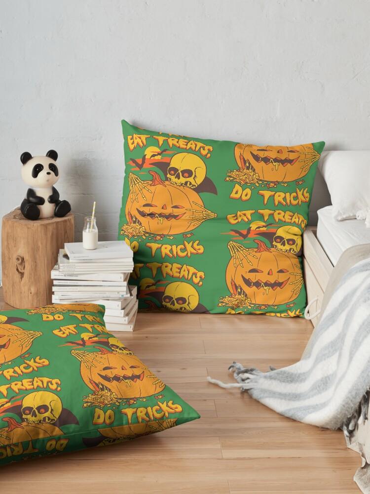 Alternate view of Eat Treats, Do Tricks Floor Pillow