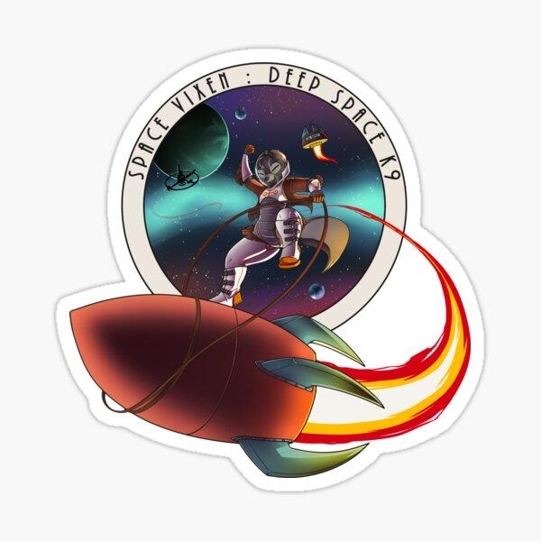 Space Vixen - Wild Ride Sticker