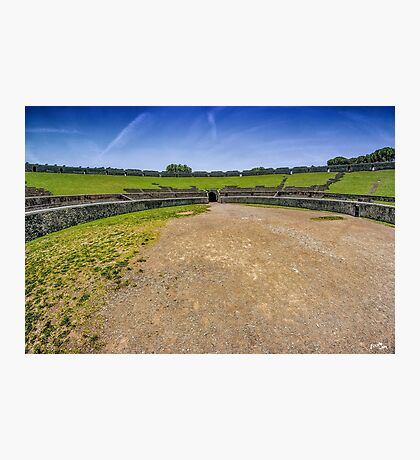 The Amphitheatre of Pompeii Photographic Print