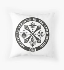 Certified By The Guild of Hunters Throw Pillow
