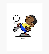 2014 World Cup - Colombia Photographic Print