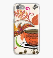 Autumn Hello October iPhone Case/Skin