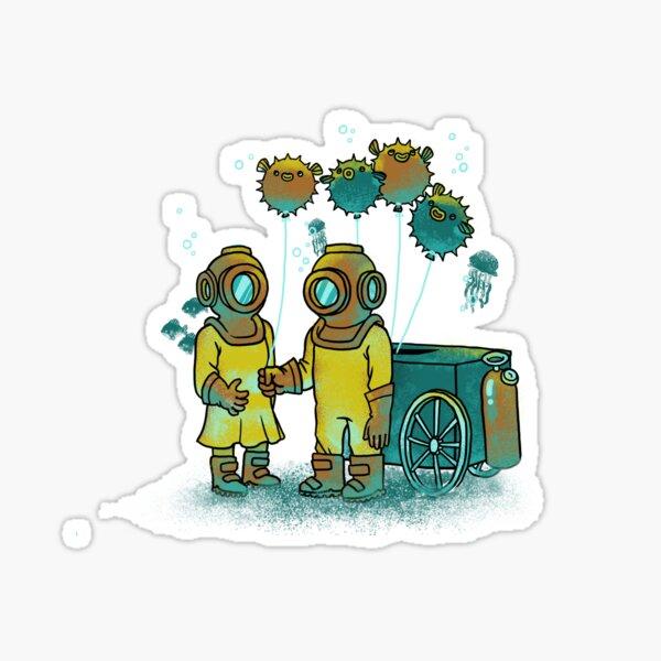 The Balloonfish Vender  Sticker