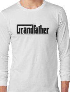 Funny Grandpa Gift Design - Grandfather Long Sleeve T-Shirt