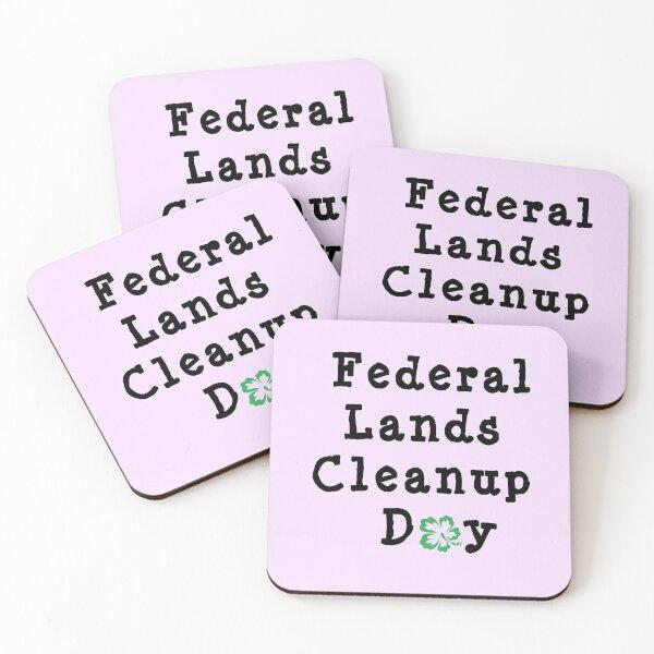 Carl Garner Federal Lands Cleanup Day Coasters (Set of 4)