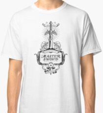 Legend of Zelda Master Sword Advertisement Classic T-Shirt