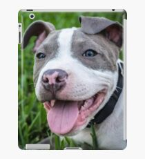Pit Bull Puppy Smiling iPad Case/Skin