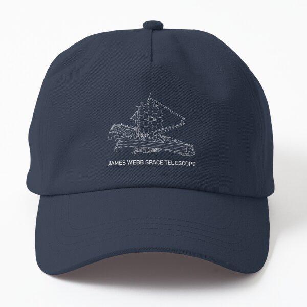 James Webb Space Telescope JWST Blueprint Gift Dad Hat