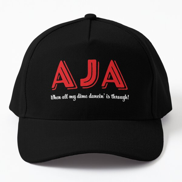 Steely Dan Aja Travel Ad (Inverted) Baseball Cap