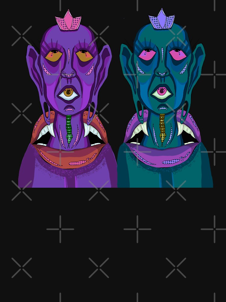 Third Eye Spiritual Twins by Darkada