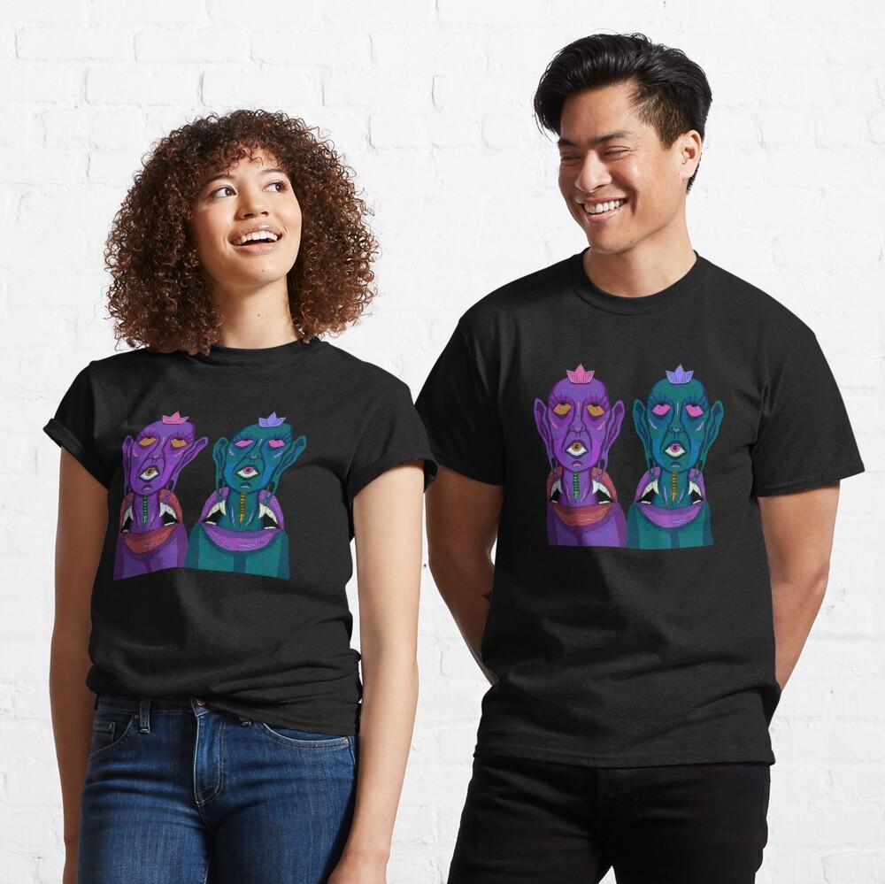 Third Eye Spiritual Twins Classic T-Shirt