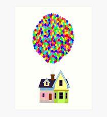 Up! House Kunstdruck