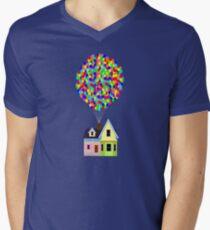 Up! House Men's V-Neck T-Shirt