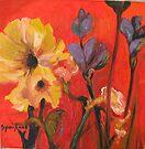 June Garden by Barbara Sparhawk