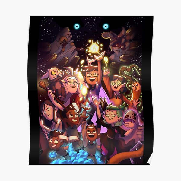 THE WHOLE PARTY| Perfect Gift | Owl House gift for fans Poster