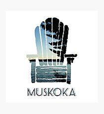 Muskoka Chair Photographic Print