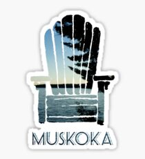 Muskoka Chair Sticker