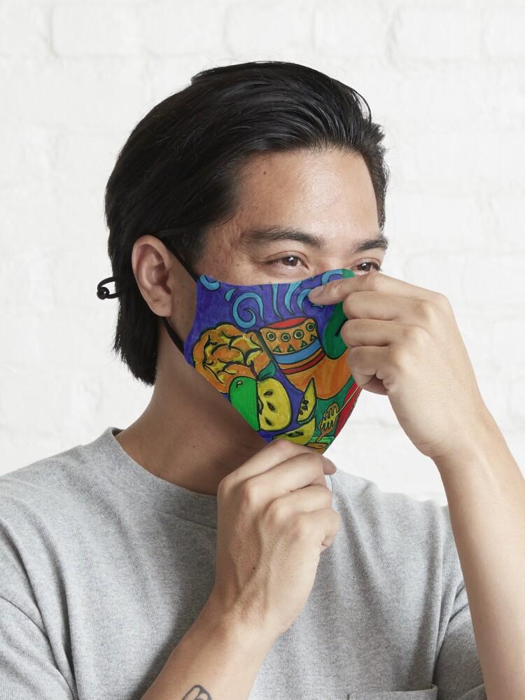Alternate view of L'Shana Tova Happy Rosh Hashanah Greeting Card Mask