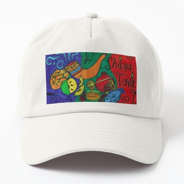 L'Shana Tova Happy Rosh Hashanah Greeting Card Dad Hat